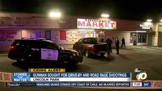 Drive-by and road rage shootings back to back
