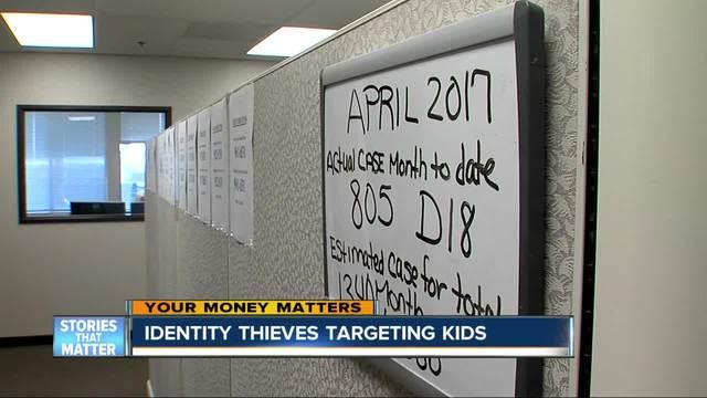 Identity thieves targeting kids