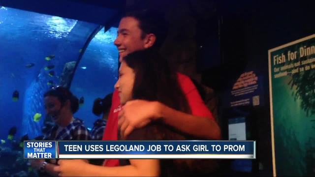 Teen gets prom date with Legoland proposal
