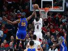 NBA Playoffs Roundup: Warriors sweep Blazers