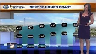 Megan's Forecast: Warming up starting tomorrow