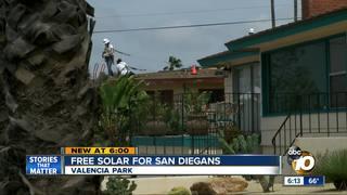 San Diegans could get free solar