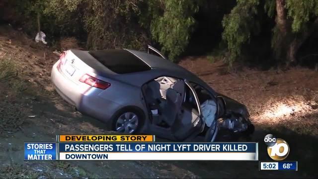 Passengers tell of night Lyft driver killed