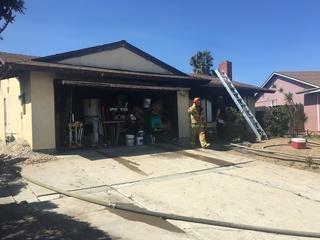 Otay Mesa fire sends six to the hospital