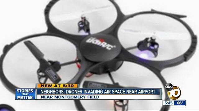 Neighbors- Drones invading air space near airport