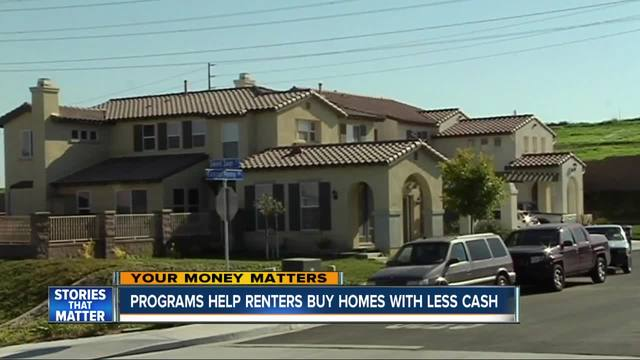 Programs help renters buy homes with less cash