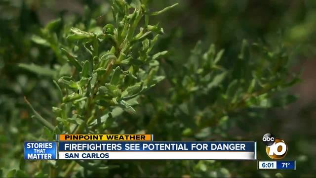 Firefighters see potential for danger