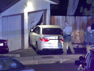 Carjacking leads to pursuit, crash in Vista