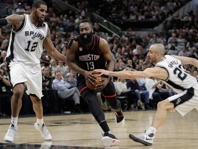 Nba Playoffs Roundup Rockets Cavs Score Convincing Game