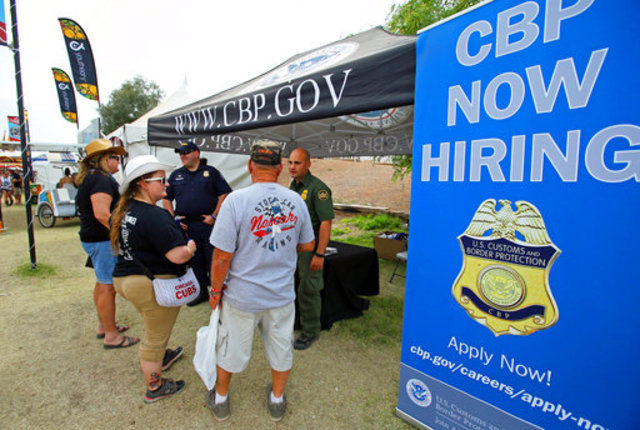 Border Patrol Casts Agent Recruiting Net At Fairs Rodeos