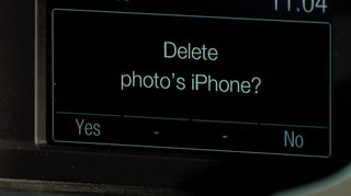 Delete your phone info from the rental cars