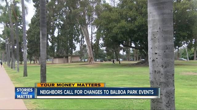 Neighbors Say Balboa Park Getting Too Noisy 10news Com