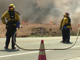 Gate Fire in Dulzura area fully contained