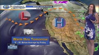 Megan's Forecast: We're almost out of the heat