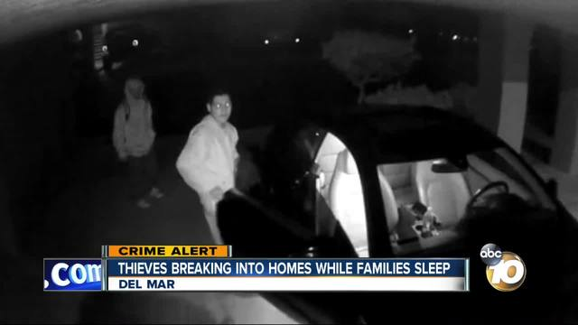 Thieves breaking into homes while families sleep