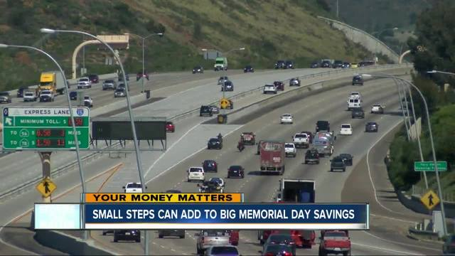 Small steps can save you money this Memorial Day