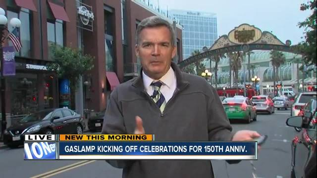 Gaslamp kicks off celebrations for 150th anniversary
