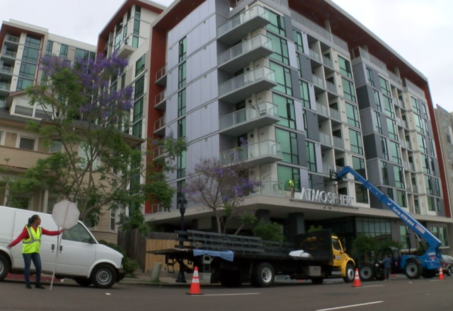 New Downtown High Rise Passes For High End Apartments But Is Reserved For Aff