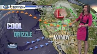 Megan's Forecast: Temperature roller coaster