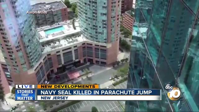 Navy SEAL killed in parachute jump