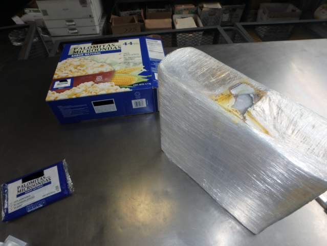 $600000+ of meth seized at the border