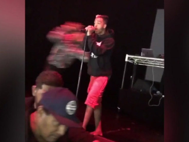 XXXtentacion Knocked Out On Stage By Rob Stone's Crew
