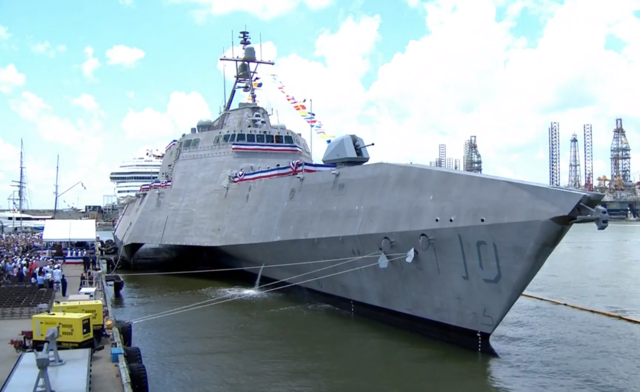 Warship honoring former AZ Rep. Giffords joins fleet