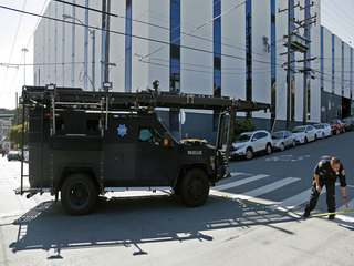 PHOTOS: Shooting at San Francisco UPS facility