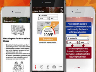 Mobile apps to help you beat the heat