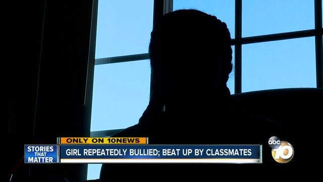 Girl repeatedly bullied- beat up by classmates
