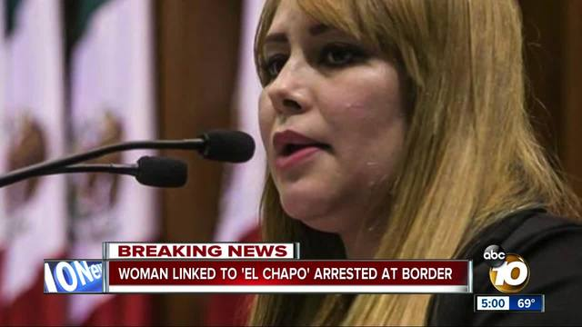 Woman linked to -El Chapo- arrested at border