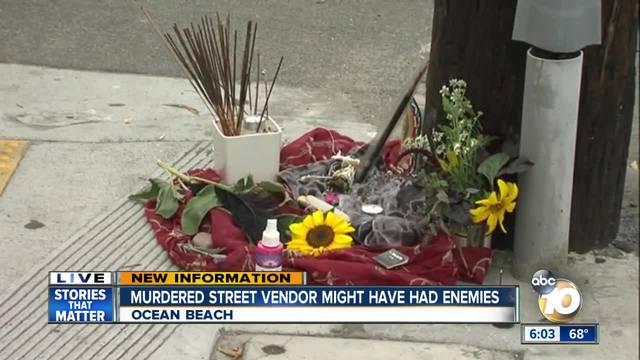 Street vendor stabbed to death in Ocean Beach