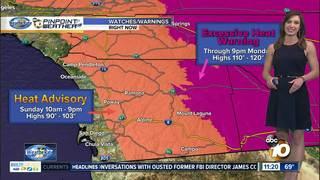 Angelica's Forecast: Dangerous Heat Returns