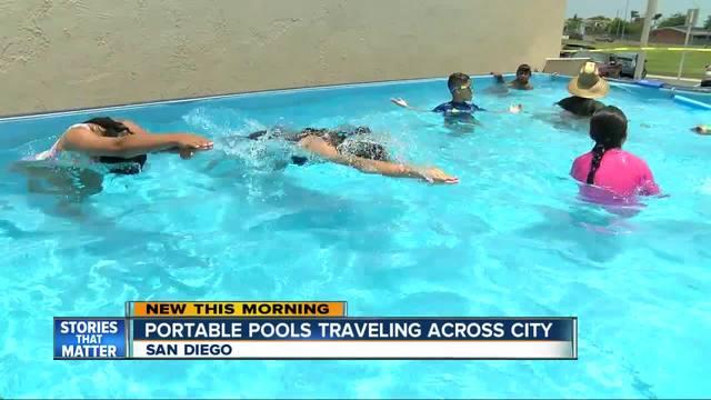Portable pool may be coming to a San Diego neighborhood near you