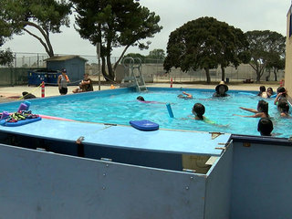 Portable pools travel to San Diego neighborhoods