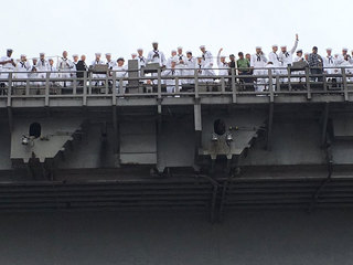 USS Carl Vinson strike group returns to SD