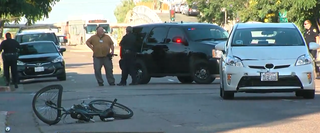 Car hits bicyclist on busy Hillcrest street
