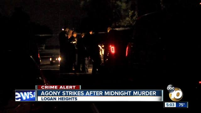 Woman collapses after murder in Logan Heights