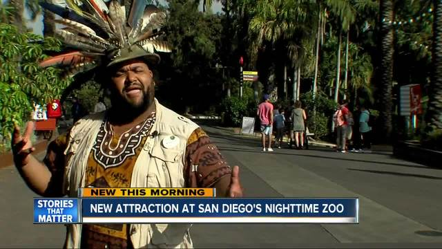 New attraction at San Diego-s Nighttime Zoo