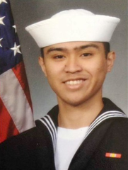 Body of sailor killed on USS Fitzgerald returned