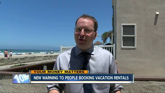 New warning for people booking vacation rentals