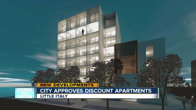 City approves discounted apartments in Little Italy