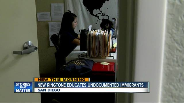 New ringtone informs immigrants of rights if confronted by ICE