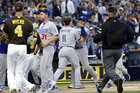Padres, Dodgers managers ejected in SD loss