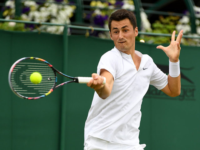 Tomic 'couldn't care less' if he wins or not