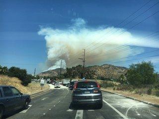 San Diego's wildfire history