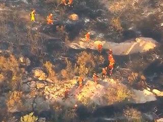 Crews make progress against Jennings Fire