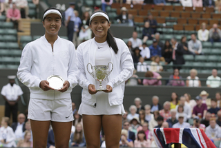 Claire Liu of US wins junior title at Wimbledon