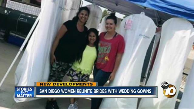 After Alfred Angelo closings, strangers offer wedding dresses to panicked brides