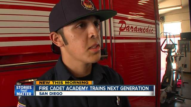 Cadet Adademy program inspires next generation of San Diego firefighters